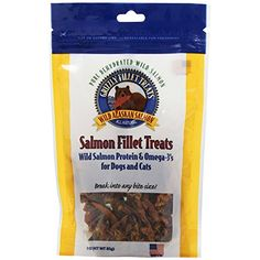 Grizzly Pet Products CatDog Salmon Fillet Treat Pack of 2 * Visit the image link more details.