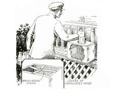 Box Prevents Milk Theft  - PopularMechanics.com