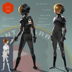 Abigail's flight suit #bh6 #conceptart #disney by myamada1979