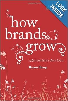 How Brands Grow: What Marketers Don't Know finds Byron Sharp using years upon years of research to give marketers insight on brand building. Unlike most marketing books, How Brands Grow features laws that are universal; they've stayed consistent over varying times, countries and conditions.