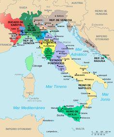 Italy Map 1494