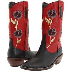 OMG, yes! Vegan, red, floral... perfect!