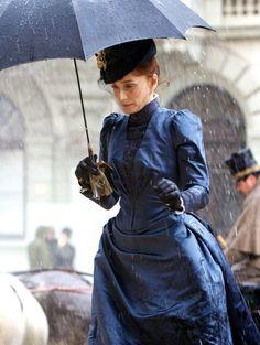 Kristin Scott Thomas as Virginie Rousset in Bel Ami (2012).