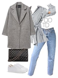 """""""OOTD 02-01-2017"""" by theeuropeancloset on Polyvore featuring MANGO and Bershka"""