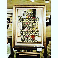 Just manifest it nothing more #art #artcollector #contemporaryart #modernart #collection #dubaiart #newyorkart #artnet #chinaart #auction #exhibition #artgallery #artofinstagram #artoftheday #losangelesart #romaart #berlinart #adamamos #artmarket #artistoninstagram #artwatchers #artoftheday #artcurator
