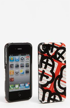 Uncommon 'Capsule - Red Stickerz' iPhone 4 & 4S Case | Nordstrom