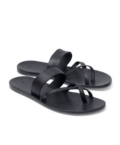 Leather Sandal - Brooks Brothers Wonderful and toe rings are my fav. Gladiator Sandals For Men, Red Sandals, Leather Sandals, Male Sandals, Gentleman Shoes, Best Shoes For Men, Mens Slippers, Leather Men, Shoe Boots