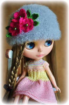 OOAK Blythe Doll Hat | eBay