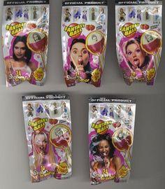 Spice Girl Fantasy Ball Lollipops.