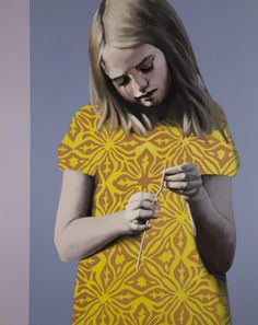 Claerwen James. Girl in Yellow 2012