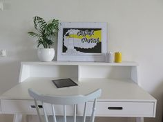 Light house A signal, change course. Silkscreen printed on paper. Framed 30x40 cm