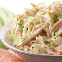 Coleslaw is a cabbage salad mixed with mayonnaise and other vegetables. This is one of the favorite salads of Filipinos, normally served in burgers or as a side dish. It's actually not that hard to make Coleslaw. With the right Continue reading → Coleslaw Salad, Creamy Coleslaw, Vinegar Coleslaw, Coleslaw Dressing, Healthy Meals, Easy Meals, Healthy Eating, Healthy Recipes, Fast Recipes