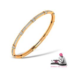 Be graced by this designer #Diamond #Bangles this Diwali  #Handcrafted #Love #Occasion #Gold #Solitaires #Festival #Jewelry #BridalJewelry