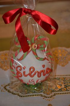 balocco natalizio personalizzato
