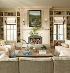could do this around fireplace c.