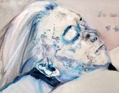 Marlene Dumas Dead Marilyn, 2008 (oil on canvas)