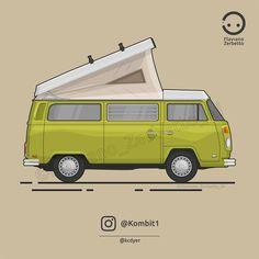 KombiT1: Volkswagen t2 @kcdyer