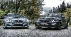 BMW M3 & BMW M4 Austria Salzburg to Kitzbuhel