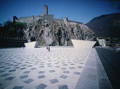 Piazza del sole Bellinzona CH  Livio Vacchini Architect