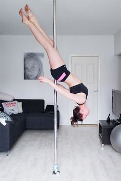 Bart Erkamp's Pole Fitness Series Proves that Pole Dancing is a Sport #photography trendhunter.com