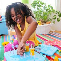 Goldie Blox!  Because engineering toys for girls are SOOO cool!!!
