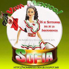 "Nombres "" Eloisa "": Barbie Mexicana (Nombres Independencia de México)"