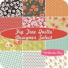 Fig Tree Quilts' Designer Select Fat Quarter BundleFarmhouse Collection   Fat Quarter Shop