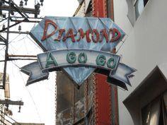 Diamond gogo bar. Pattaya, Thailand.