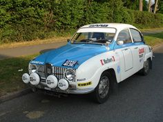1967 'Long Nose' SAAB 96 SOLD, This car is well presented and has been prepared as a replica of the car entered in major Internatio Saab Automobile, Sax Man, Saab 900, Rally Car, Volvo, Cars And Motorcycles, Race Cars, Sweden, Dream Cars