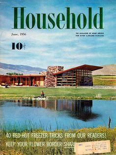 Household June, 1956 : Quintin Blair House | Frank Lloyd Wright