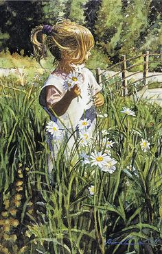 """Picking Daisies"" -Steve Hanks"