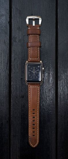 Nomad Horween Apple Watch Leather Strap