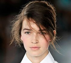 Nordic look - no mascara with red lipstick | Pastel | Pinterest ...