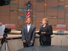 Tempe City Council Members Onnie Shekergian and Corey Woods create Orientation video for City Council Meeting
