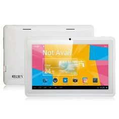 Cube U18GT Quad Core Tablet PC 7 Inch Android 4.1 1GB RAM 8GB HDMI Pure White