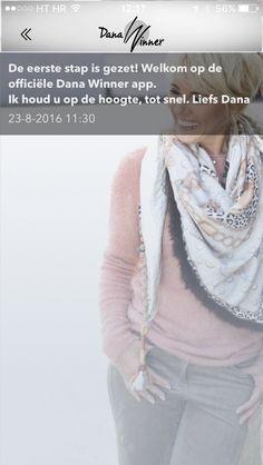 23-08-2016 Lancering Dana Winner app. Al snel werd deze meerdere malen bijgewerkt, aangepast en verbeterd tot een prachtige, overzichtelijke, veelzijdige, kleurrijke en interessante app. van deze nog meer geweldige Vlaamse top zangeres. Super idee voor de fans. (DW door Hetty Wassenaar)