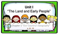 This is a simple yet great, fun and interactive presentation (in PDF format) on the United States Geography based on 5th Grade Harcourt Horizons: United States History textbook.I know there is a lot of information around. However, I want something more specific for my pupils.