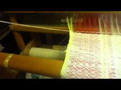 Weaving Finnish Birdseye pattern