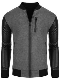 $16.51 Jacket in grey and black.