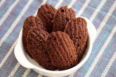 Mel e Pimenta: Madeleines de chocolate e canela