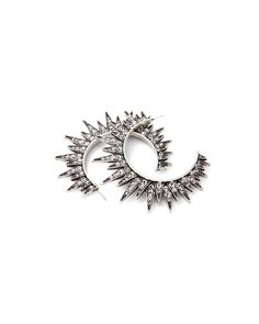 Crux Spiked Hoops