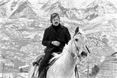 Redford on horseback, Utah, 1969. (John Dominis—The LIFE Picture Collection/Getty Images)