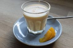 Healthy food recipe: Peach panna cotta @ i try to eat healthy
