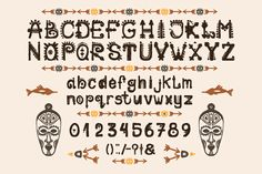 African Font example image 2