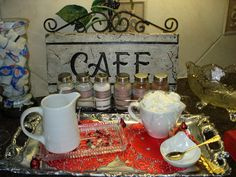 Coffee station for a party