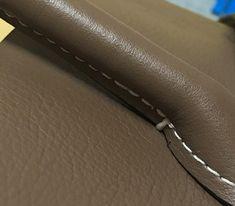 에르메스 버킨백st 가죽가방만들기 5주차 수업 : 네이버 블로그 Leather Bag Pattern, Birkin, Hermes, Zip Around Wallet, Detail, Bags, Totes, Leather, Handbags