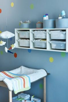A new baby comes with lots of decisions, worries and necessities. Planning a baby room that grows along with your child can help you spend less time and money stressing over what's next. Check out some IKEA tips like transforming cribs, versatile storage and classic styles.  Interior design by Rita Mestre. Photography by Johan Månsson. Writing by Marissa Frayer.