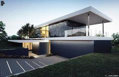 Pochyły teren często przez architektów traktowany jest jak wyzwanie, żeby nie…