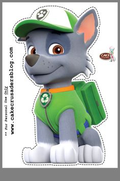Pin on callum birthday paw patrol Paw Patrol Party Invitations, Paw Patrol Birthday Invitations, Imprimibles Paw Patrol, Paw Patrol Party Decorations, Paw Patrol Birthday Theme, Paw Patrol Rocky, Cumple Paw Patrol, Outdoor Birthday, 3rd Birthday