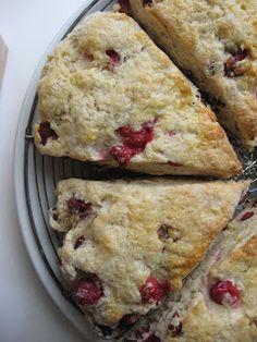 Auberge on the Vineyard's Recipes: Cranberry Almond Scones